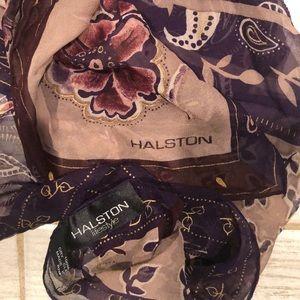 Vintage Halston, 100% Silk Neckerchief, NWOT